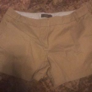 New J Crew Chino Khaki Shorts